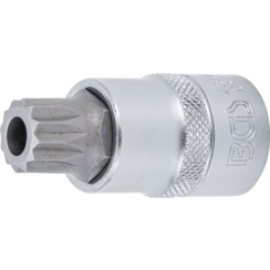 "Bit Socket  12.5 mm (1/2"") Drive  Spline tamperproof (for XZN) M16"