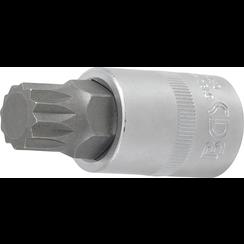"Bit Socket  12.5 mm (1/2"") Drive  Spline (for XZN) M17"