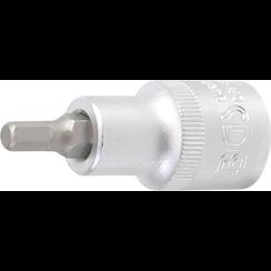 "Bit Socket  12.5 mm (1/2"") Drive  internal Hexagon 5.5 mm"
