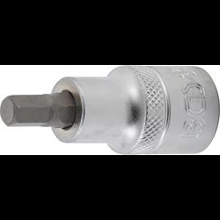 """Bit Socket  12.5 mm (1/2"""")  internal Hexagon 7 mm"""