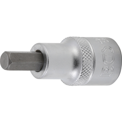 """Bit Socket  12.5 mm (1/2"""")  internal Hexagon 8 mm"""