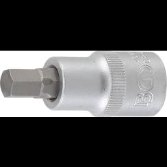 """Bit Socket  12.5 mm (1/2"""")  internal Hexagon 9 mm"""
