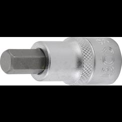"""Bit Socket  12.5 mm (1/2"""")  internal Hexagon 10 mm"""
