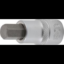 """Bit Socket  12.5 mm (1/2"""")  internal Hexagon 12 mm"""