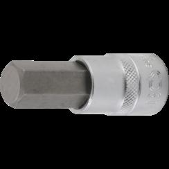 """Bit Socket  12.5 mm (1/2"""")  internal Hexagon 17 mm"""