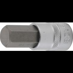 """Bit Socket  12.5 mm (1/2"""")  internal Hexagon 19 mm"""