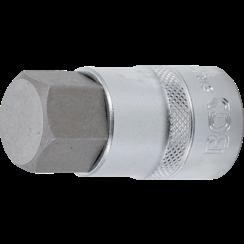 """Bit Socket  12.5 mm (1/2"""")  internal Hexagon 22 mm"""