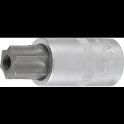 "Dopsleutelbit  12,5 mm (1/2"") Torx met boring T70"