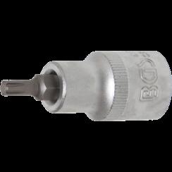 "Bit Socket  12.5 mm (1/2"") Drive  Spline (for RIBE) M5"