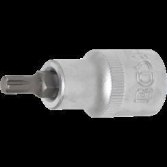 "Bit Socket  12.5 mm (1/2"") Drive  Spline (for RIBE) M6"