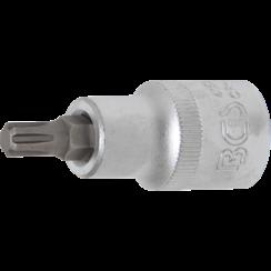 "Bit Socket  12.5 mm (1/2"") Drive  Spline (for RIBE) M7"
