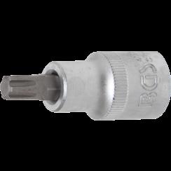 "Bit Socket  12.5 mm (1/2"") Drive  spline (for Ribe) M8"