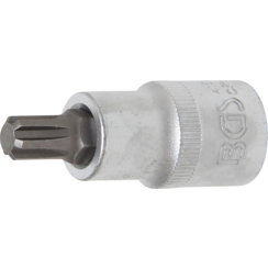 "Bit Socket  12.5 mm (1/2"") Drive  Spline (for RIBE) M9"