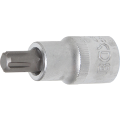 "Bit Socket  12.5 mm (1/2"") Drive Spline (for Ribe) M10"