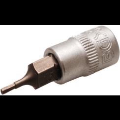 """Dopsleutelbit  6,3 mm (1/4"""")  INBUS 1,5 mm"""