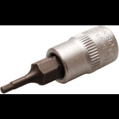 """Dopsleutelbit  6,3 mm (1/4"""")  INBUS 2 mm"""