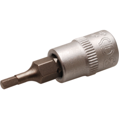 "Bit Socket  6.3 mm (1/4"") Drive  internal Hexagon 2.5 mm"