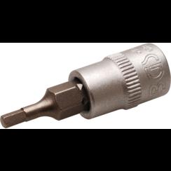 """Dopsleutelbit  6,3 mm (1/4"""")  INBUS 2,5 mm"""