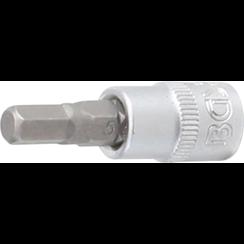 """Dopsleutelbit  6,3 mm (1/4"""")  INBUS 5,5 mm"""