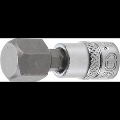 """Dopsleutelbit  6,3 mm (1/4"""")  INBUS 12 mm"""