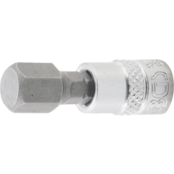 "Bit Socket  6.3 mm (1/4"") Drive  internal Hexagon 3/8"""