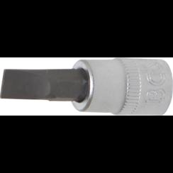 """Dopsleutelbit  6,3 mm (1/4"""")  sleuf 6,5 mm"""