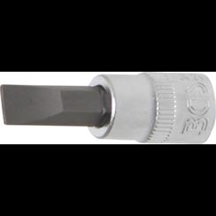 """Dopsleutelbit  6,3 mm (1/4"""")  sleuf 7 mm"""
