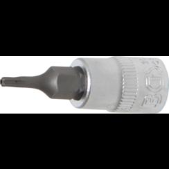 "Dopsleutelbit  6,3 mm (1/4"") Torx met boring T8"