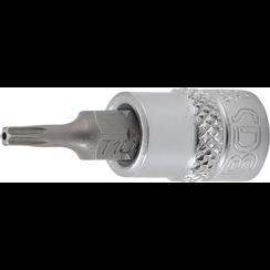 "Bit Socket  6.3 mm (1/4"") Drive  T-Star tamperproof (for Torx) T10"