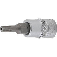 "Bit Socket  6.3 mm (1/4"") Drive  T-Star tamperproof (for Torx) T20"