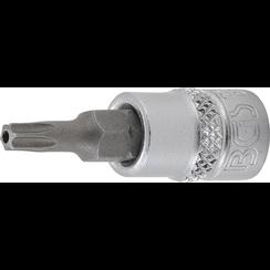 "Dopsleutelbit  6,3 mm (1/4"") Torx met boring T20"
