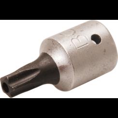 """Bit Socket  6.3 mm (1/4"""") Drive  T-Star tamperproof (for Torx) TS25"""