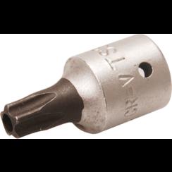 """Dopsleutelbit  6,3 mm (1/4"""")  TS-profiel (voor Torx-plus) met boring TS30"""