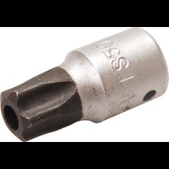 """Dopsleutelbit  6,3 mm (1/4"""")  TS-profiel (voor Torx-plus) met boring TS50"""