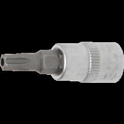 """Dopsleutelbit  6,3 mm (1/4"""")  TS-profiel (voor Torx-plus) met boring TS27"""