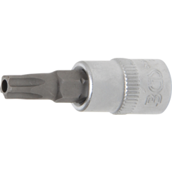 """Bit Socket  6.3 mm (1/4"""") Drive  T-Star tamperproof (for Torx) TS30"""