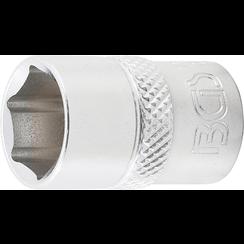 "Dopsleutel zeskant  10 mm (3/8"")  13 mm"
