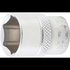 "Dopsleutel zeskant  10 mm (3/8"")  16 mm"