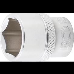 "Dopsleutel zeskant  10 mm (3/8"")  17 mm"