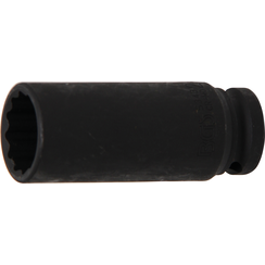"Impact Socket, 12-point  12.5 mm (1/2"") Drive  24 mm"