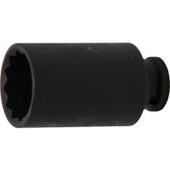 "Impact Socket, 12-point  12.5 mm (1/2"") Drive  33 mm"