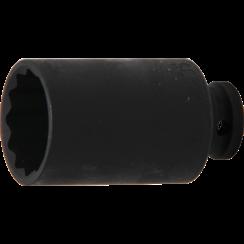 "Impact Socket, 12-point  12.5 mm (1/2"") Drive  35 mm"