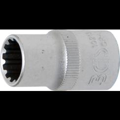 """Socket, Gear Lock, deep  12,5 mm (1/2"""") Drive  13 mm"""