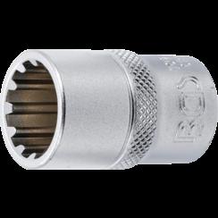"""Socket, Gear Lock, deep  12.5 mm (1/2"""") Drive  16 mm"""