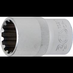"""Socket, Gear Lock, deep  12.5 mm (1/2"""") Drive  17 mm"""