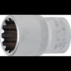 """Socket, Gear Lock, deep  12.5 mm (1/2"""") Drive  18 mm"""