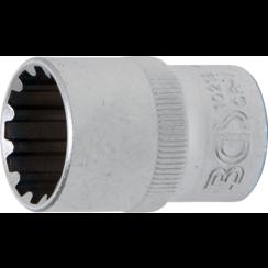 """Socket, Gear Lock, deep  12.5 mm (1/2"""") Drive  19 mm"""