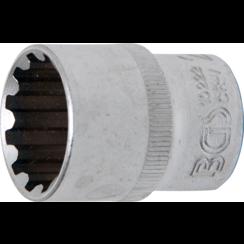 """Socket, Gear Lock  12.5 mm (1/2"""") Drive  22 mm"""