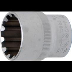 """Socket, Gear Lock  12.5 mm (1/2"""") Drive  24 mm"""