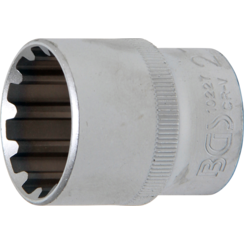 """Socket, Gear Lock  12.5 mm (1/2"""") Drive  27 mm"""